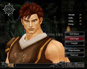 nhân vật Mu Online